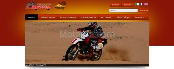 "Rallye moto d'Algérie : le ""Challenge Sahari International"""