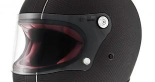 Premier Trophy Carbon: un casque intégral vintage en carbone
