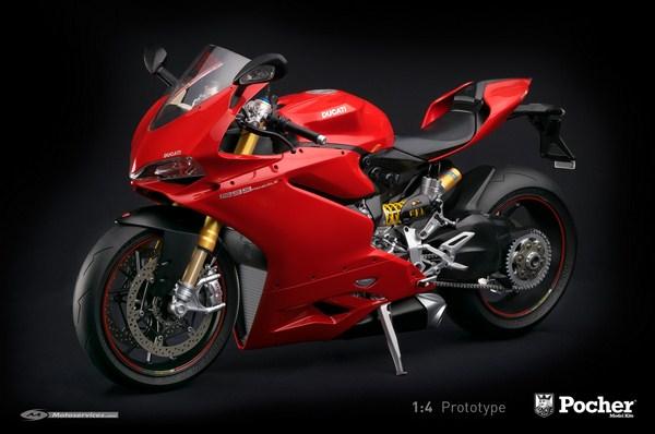 Maquette Ducati Panigale 1299 S : c'est cadeau !