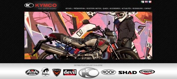 Kymco Algérie relooke son site internet !