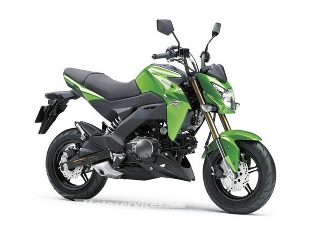 Kawasaki Z125 : une mini bike façon MSX pour 2016
