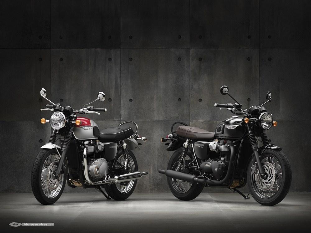 Nouvelle Triumph Bonneville T120 et T120 Black 2016 : renaissance d'une icône