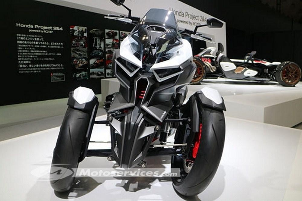Honda Neowing : plus de détails en photos au salon de Tokyo