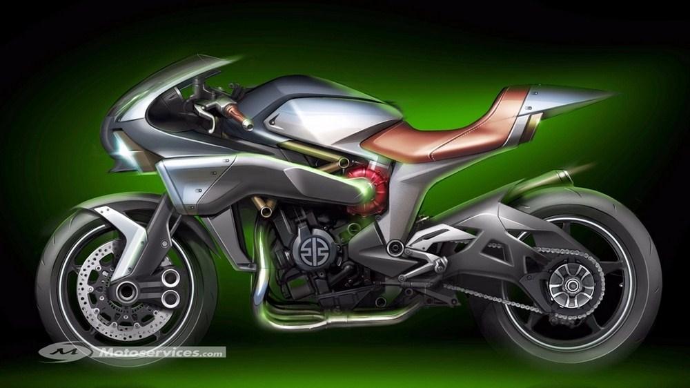 Kawasaki Spirit Charger Concept SC 01 : le futur du turbo à Tokyo