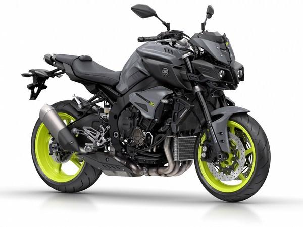Nouveauté 2016 - Eicma - Yamaha MT-10
