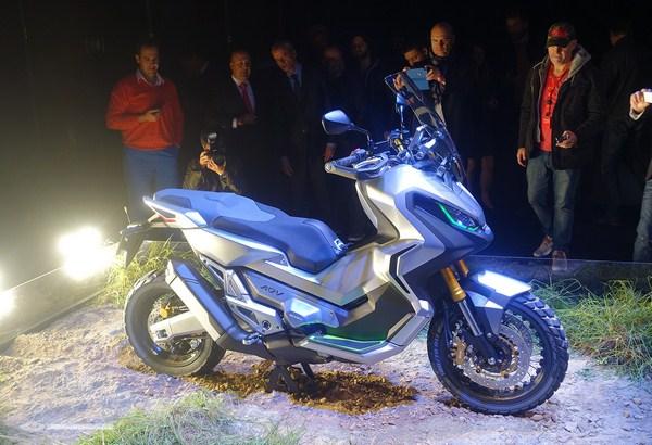 Nouveauté 2016 - Eicma - Honda ADV City Adventure Concept