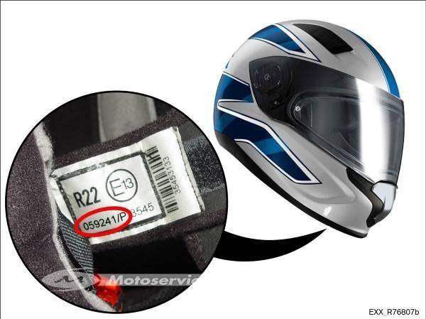 BMW Motorrad rappelle des casques Helmet Sport