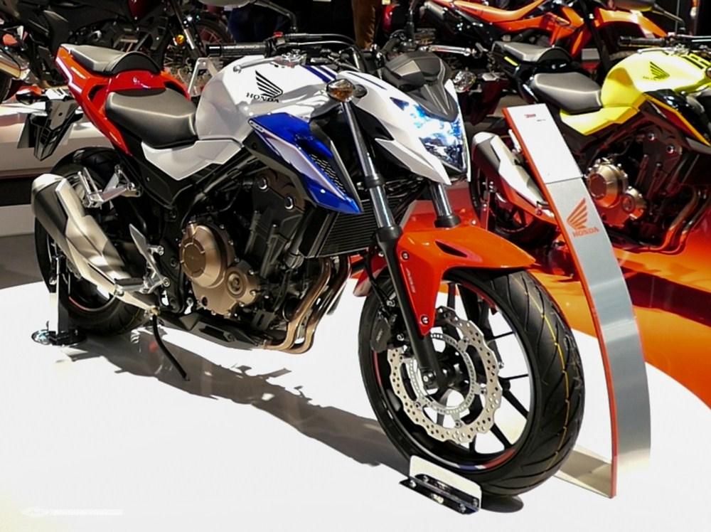 Nouveauté 2016 - Evolution de la Honda CB500F en video