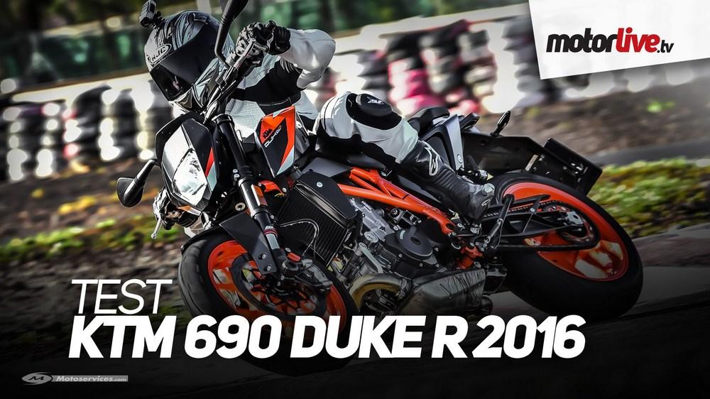 Nouvelle KTM Duke 690 R : le test vidéo