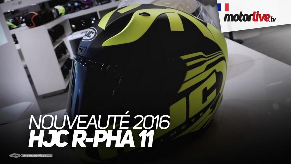 Salon de Paris : le nouveau HJC R-Pha 11 en vidéo