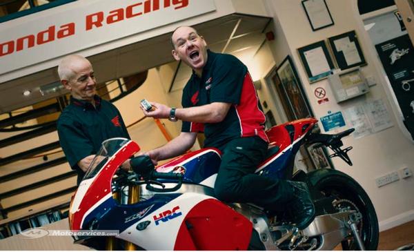 Honda RC213V : Les Anglais ont tiré les premiers !