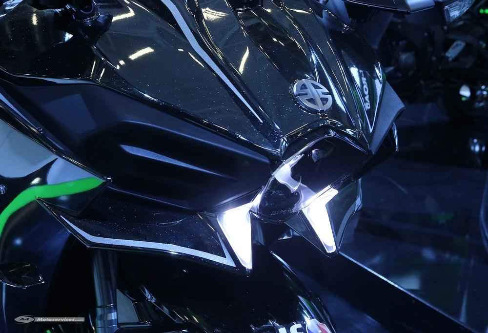Kawasaki H2, la vidéo de la nouveauté qui se fait attendre