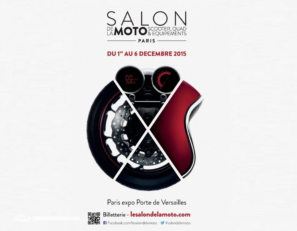 Bilan salon de la moto de Paris 2015 : 165 000 visiteurs