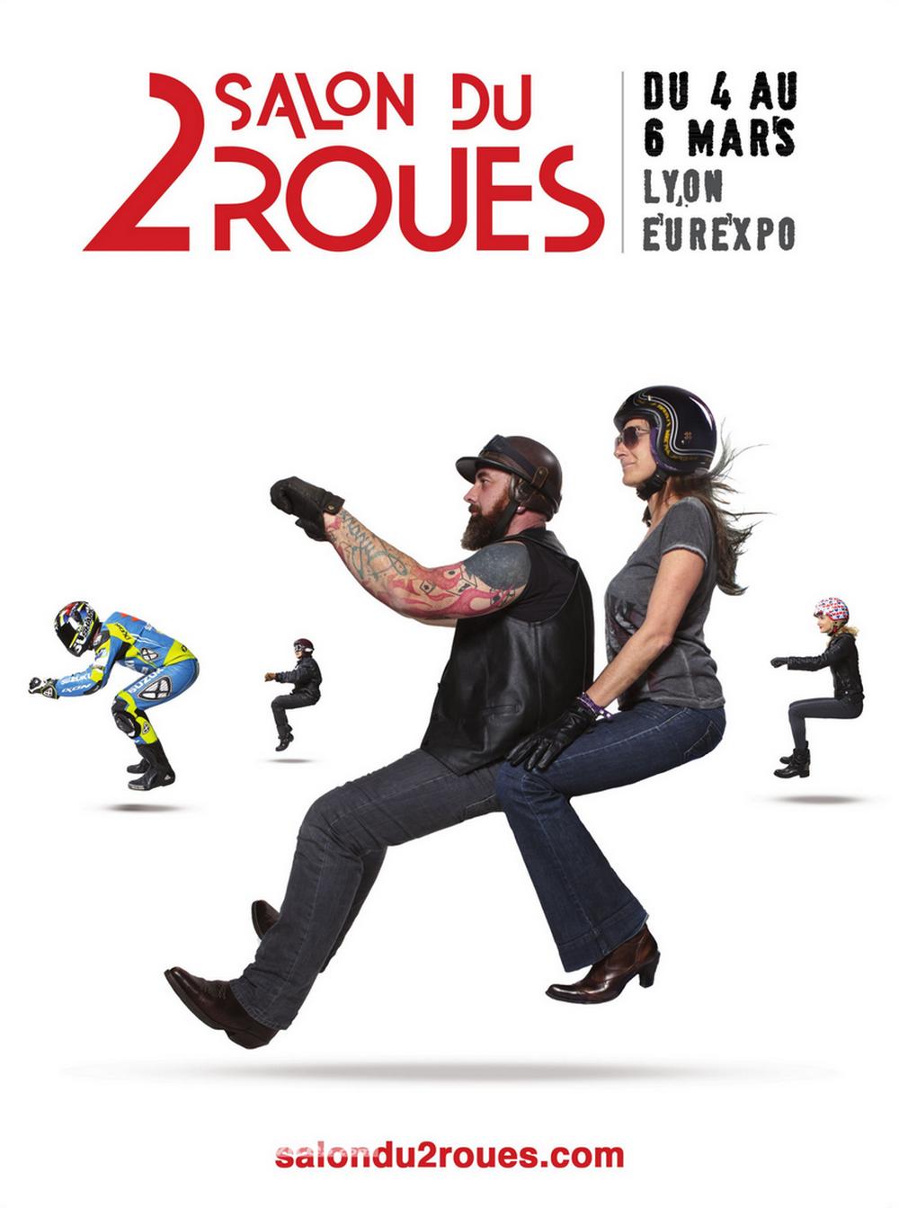 Salon du 2 roues de lyon 2016 dates et programme moto dz for Salon ce lyon 2015