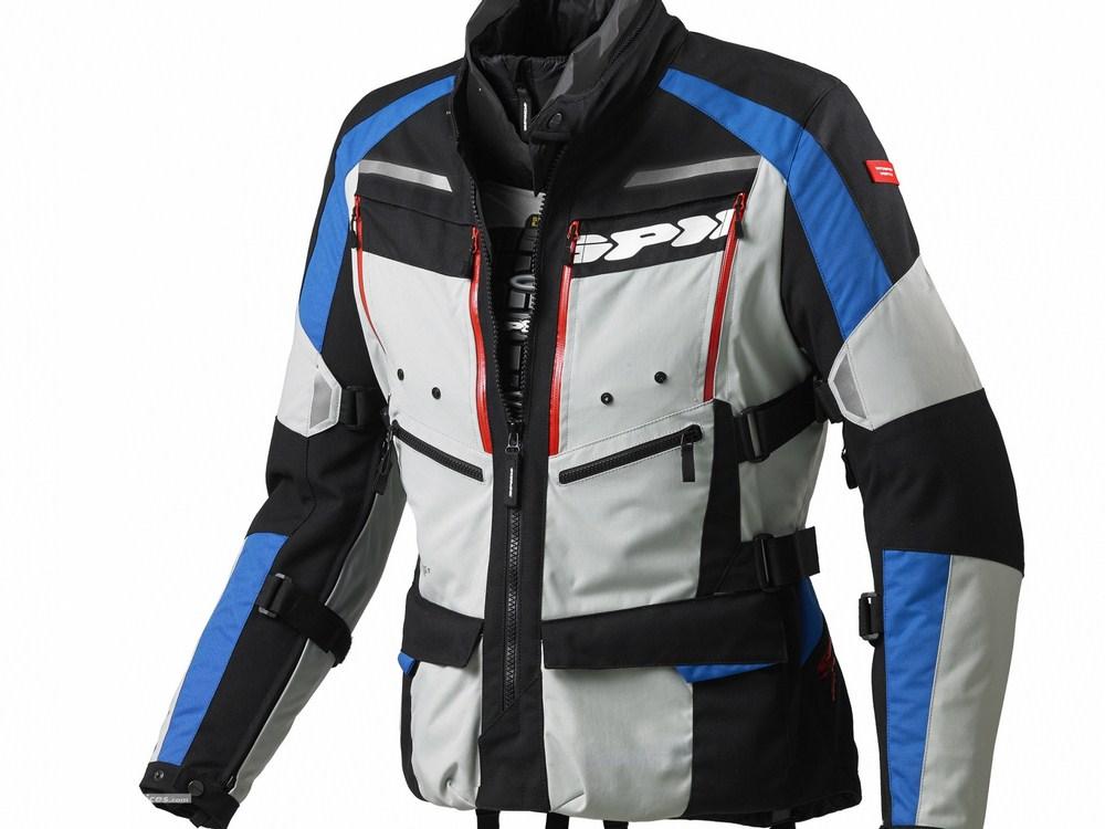 Spidi 4season : une nouvelle veste dédiée touring chez l'italien Spidi