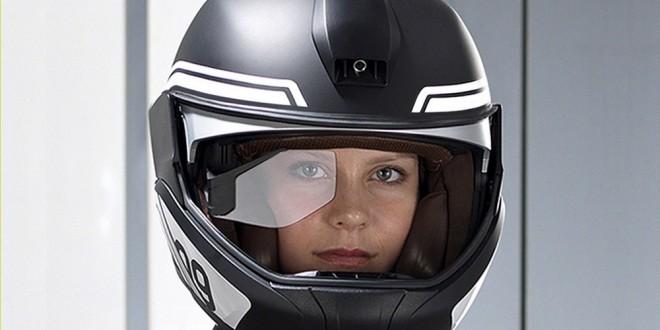 ces 2016 un casque vision t te haute chez bmw motorrad moto dz. Black Bedroom Furniture Sets. Home Design Ideas