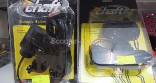 Idée pratique : le kit Chaft allume cigare + port USB