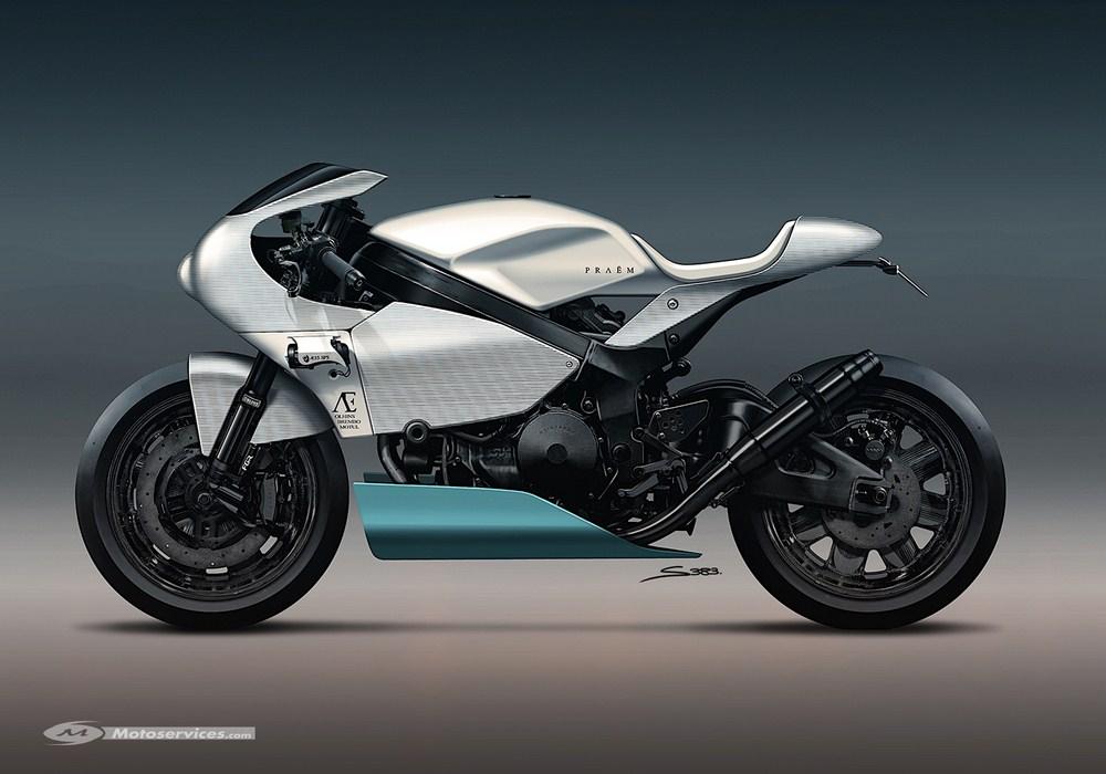 Praëm SP3 : une moto unique en vente chez Bonhams