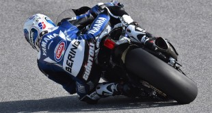 WSBK 2016 : Sylvain Guintoli (Yamaha-Crescent) roule en Bering.