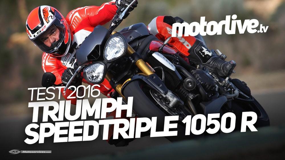 Nouvelle Triumph Speed Triple 2016 : essai et vidéo par Philippe Monneret