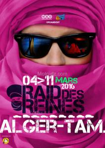 Le Raid des Reines, le rallye 100% féminin - Alger / Tamanrasset