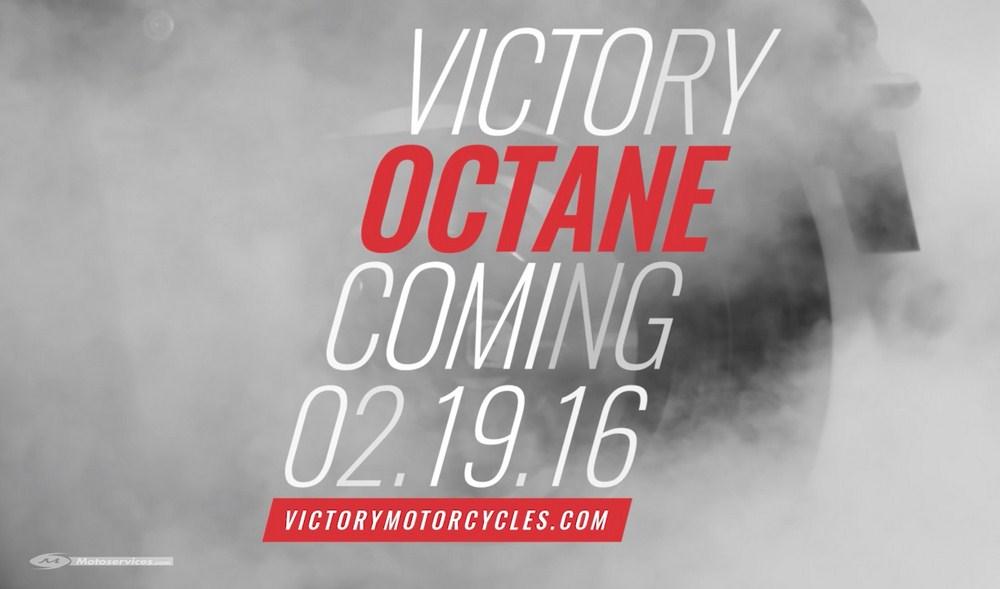 Victory Octane : 1er teaser vidéo du nouveau muscle bike américain