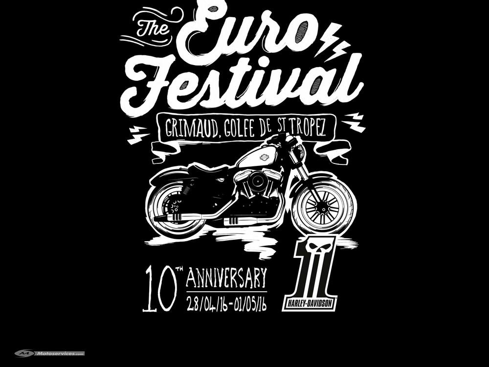 Harley Euro Festival : 10 ans en 2016, Shaka Ponk à Grimaud !