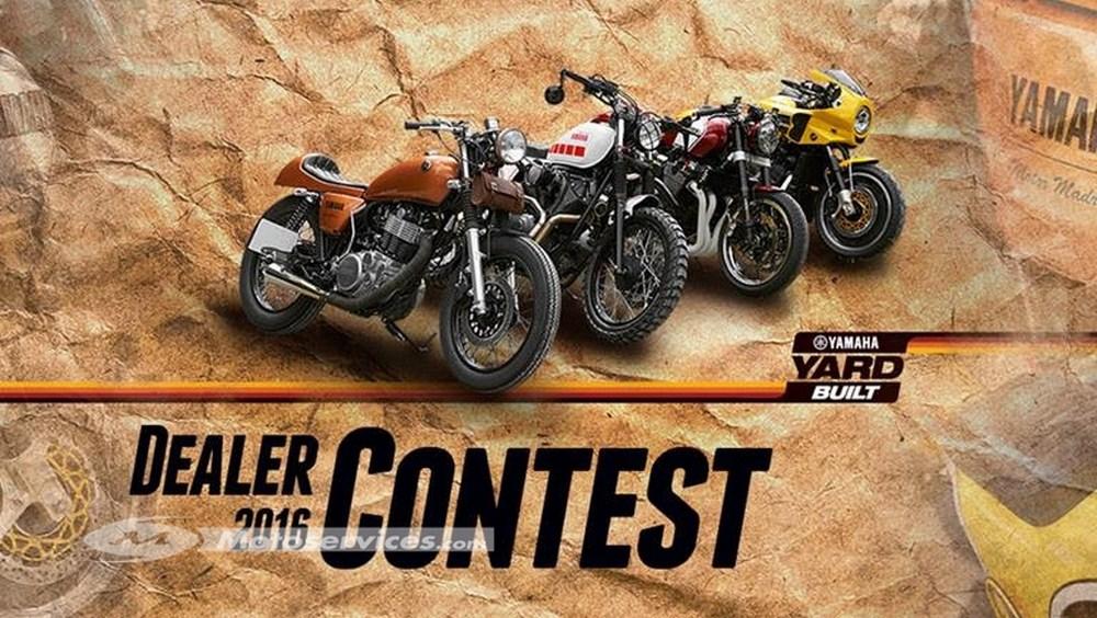 Yamaha Dealer Contest : votez pour la plus belle prépa Yard Built