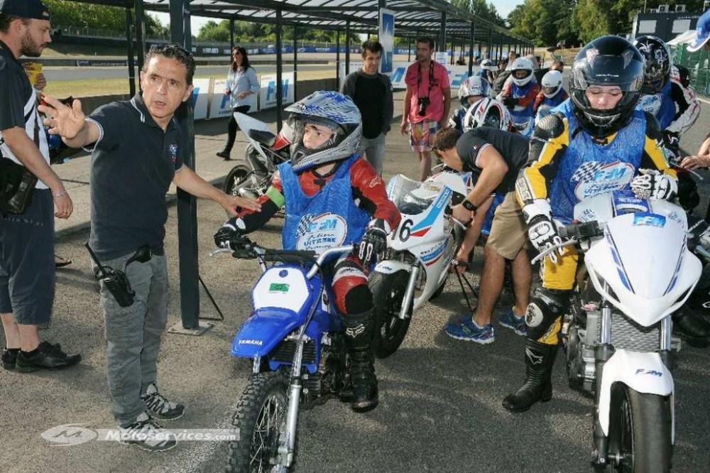 Ecole de Motocyclisme Itinérante FFM : deux stages pour les petits en avril