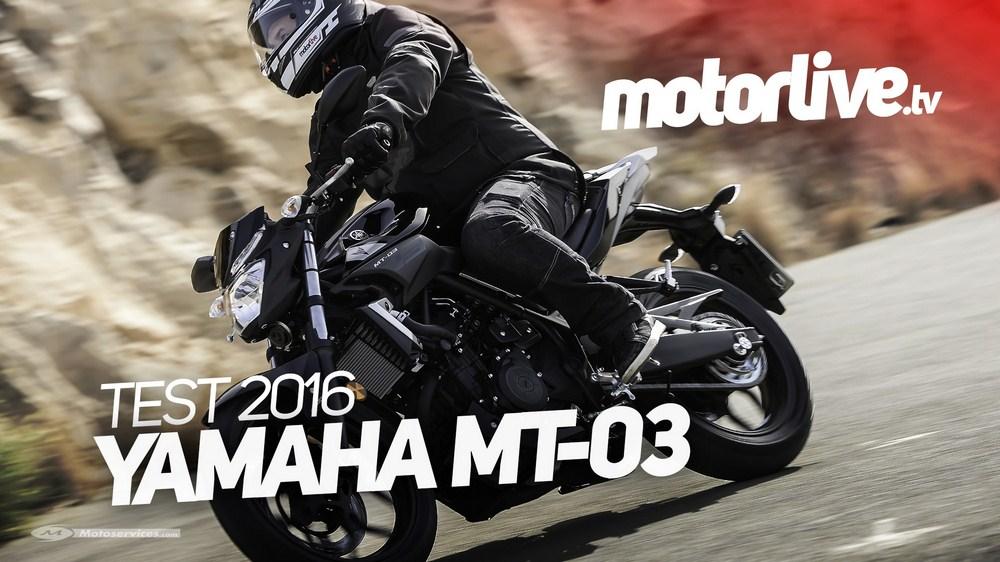 Yamaha MT-03 2016 : le Dark Side des permis A2 en essai vidéo