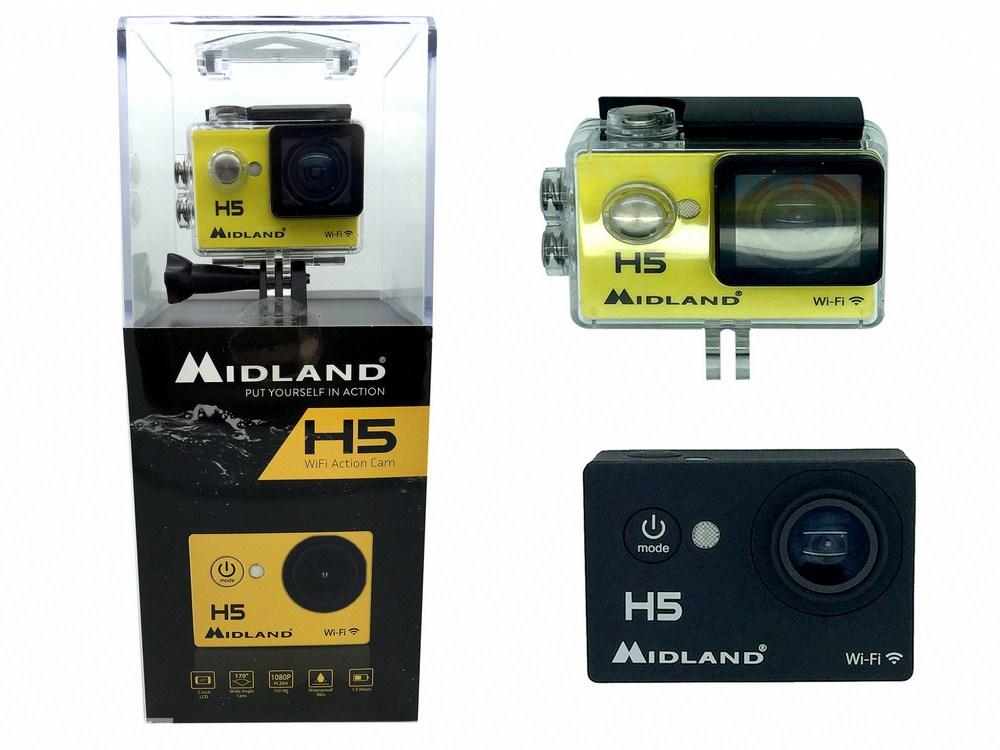 Camera Sport Midland HD, plus petite et moins chère