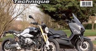 La RMT est parue avec Yamaha Xmax 400 et BMW NineT