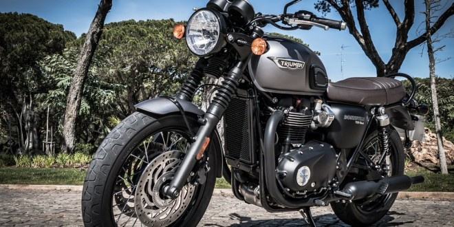 triumph bonneville t120 2016 premier contact avant l 39 essai moto dz. Black Bedroom Furniture Sets. Home Design Ideas