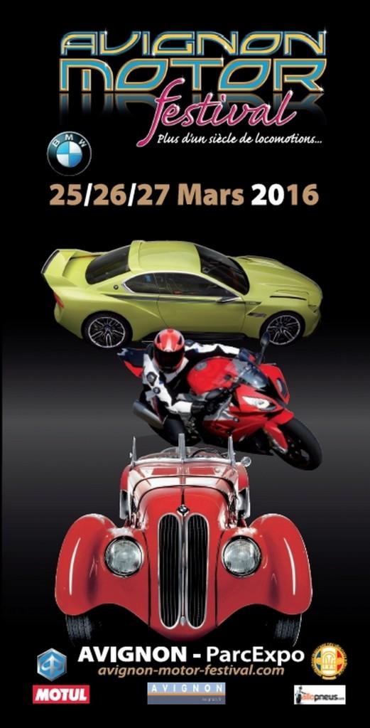 Avignon Motor Festival : 14e édition du 25 au 27 mars