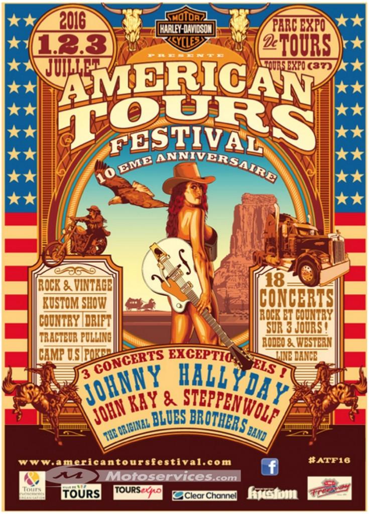 American Tours Festival 2016 : Harley et Johnny y seront !