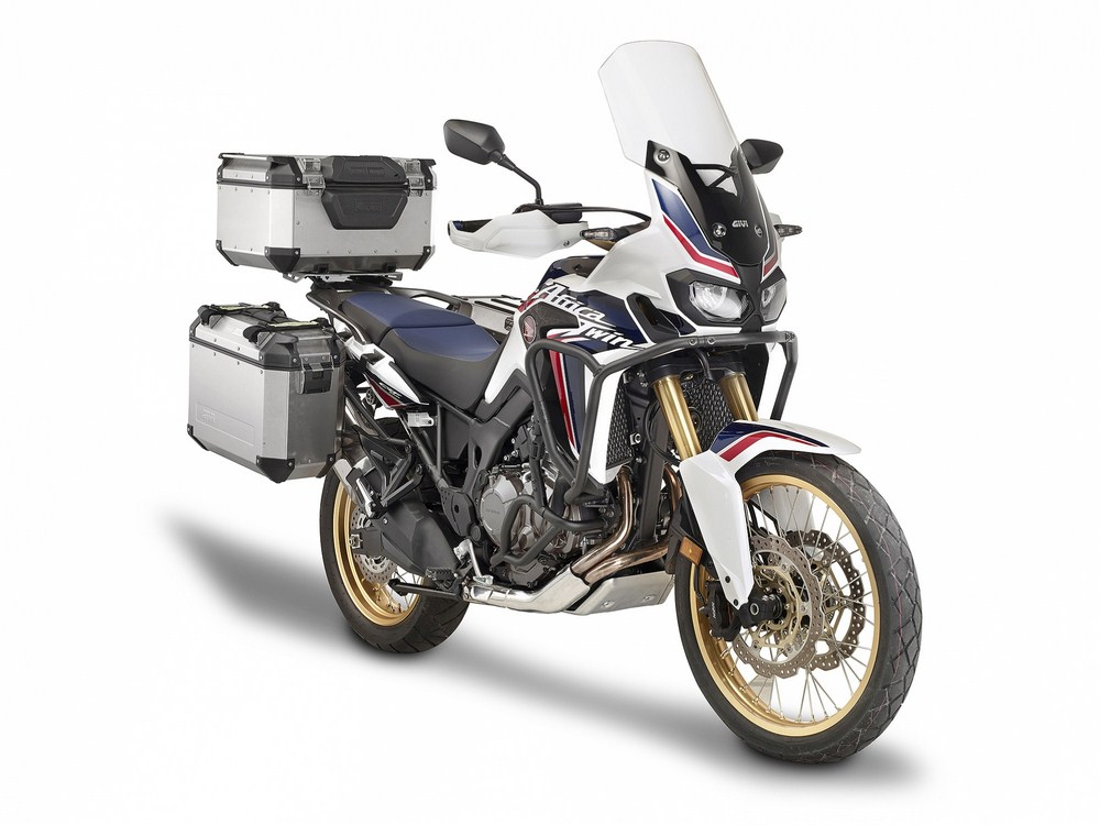 Africa Twin by Givi de la piste au quotidien