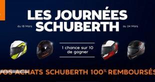 Votre Schuberth remboursé avec Motoblouz