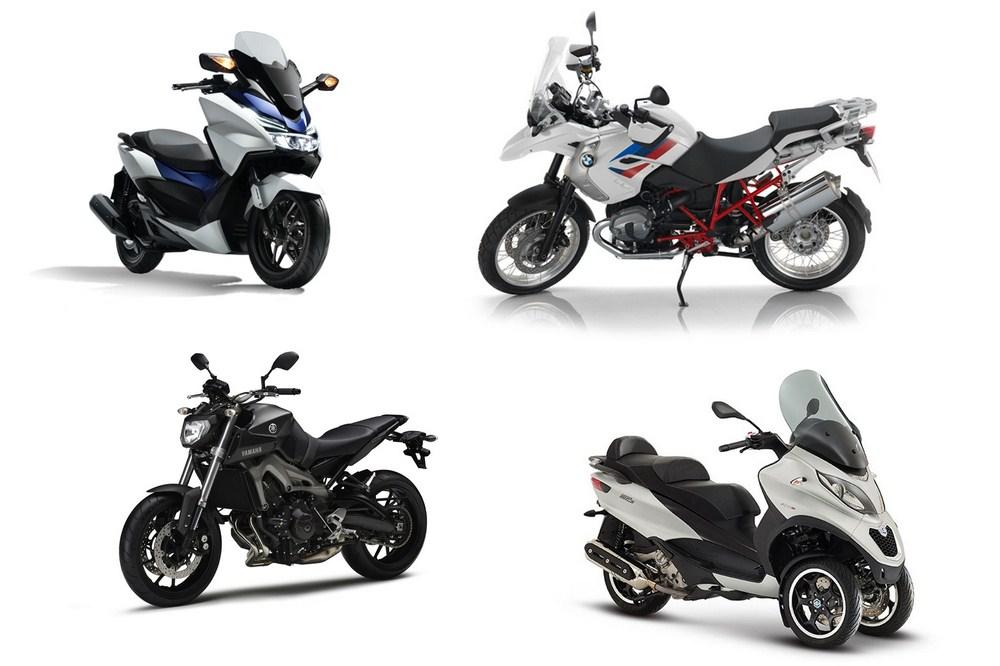 Marché moto - scooter février 2016 : doux