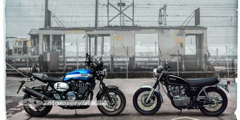Yamaha XJR 1300 et SR 400 : bye bye