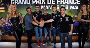 MotoGP 2016 : Le GP de France présenté à Paris avec tous les pilotes français.