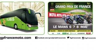Partez au Grand Prix de France moto en bus
