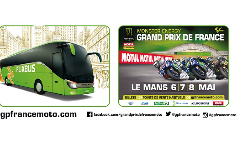 Partez au Grand Prix de France moto en bus