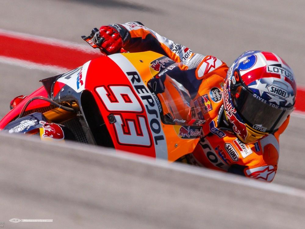 MotoGP 2016 à Austin : Marquez quatre sur quatre