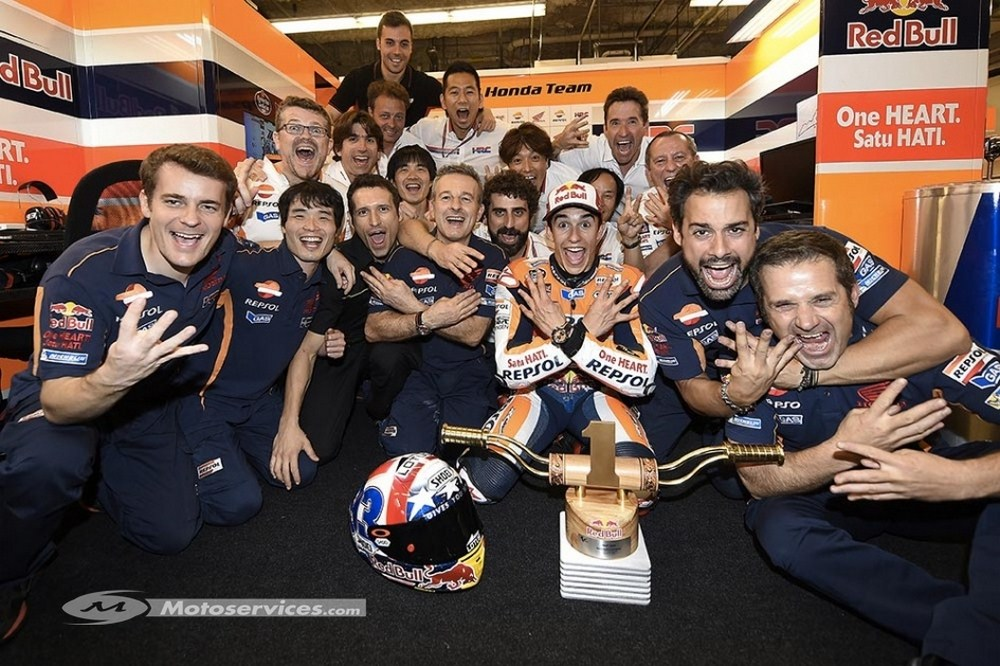 MotoGP 2017 : Marquez reste chez Honda, Vinales change d'agent
