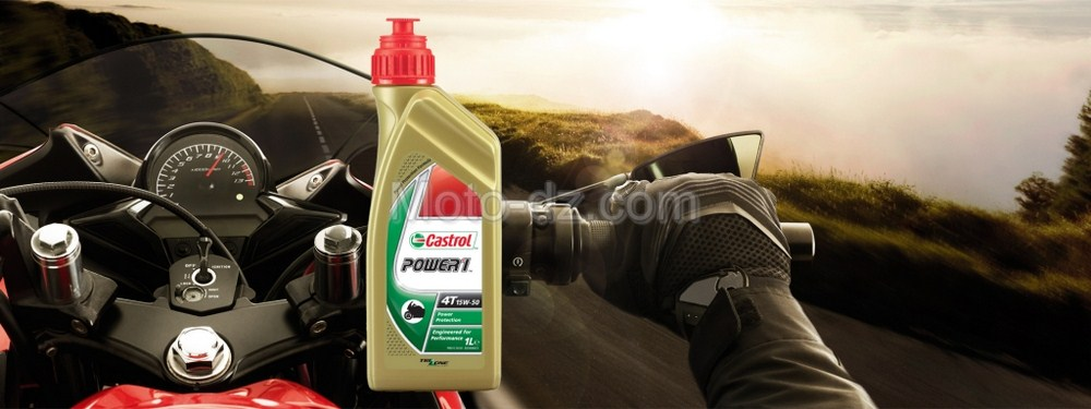 Castrol Algérie : Power 1, l'huile 100% moto