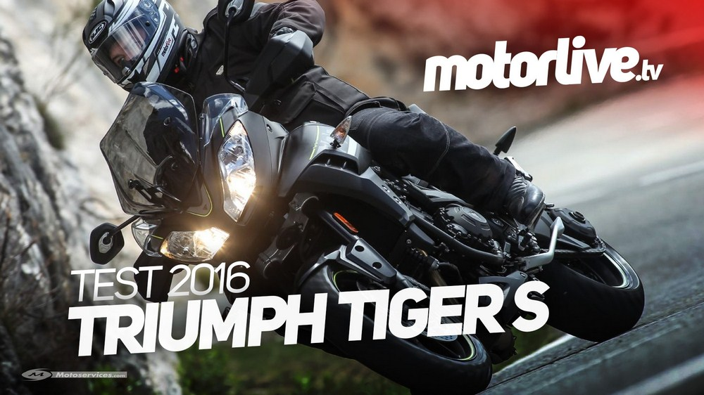 Triumph Tiger Sport 2016 : la vidéo est en ligne