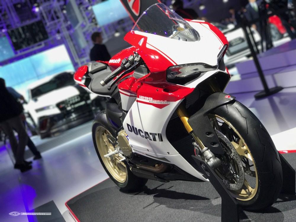 Les motos s'invitent au Mondial de l'Auto 2016