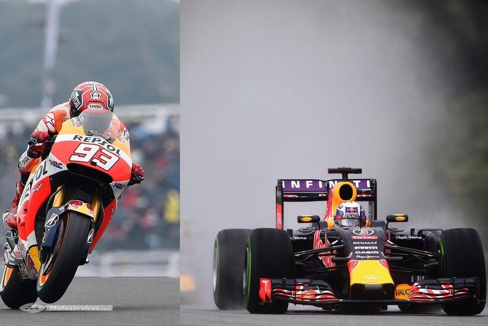 En 2017,six GP de F1 sur la même date que le MotoGP