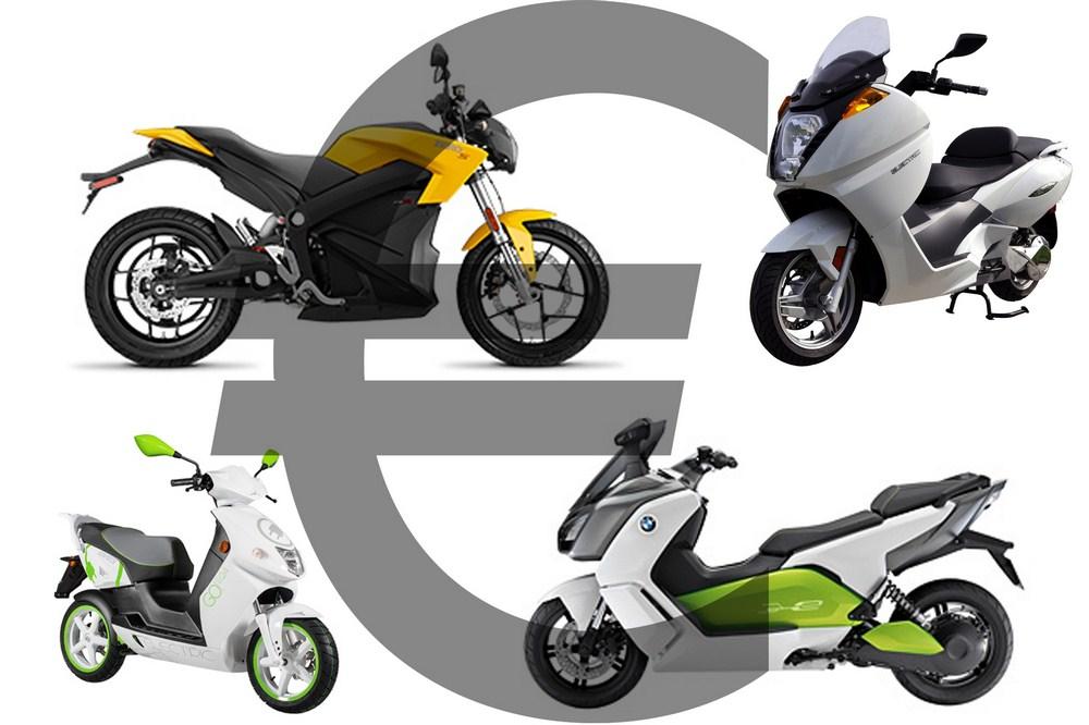Un bonus écologique pour les motos et scooters électriques en 2017