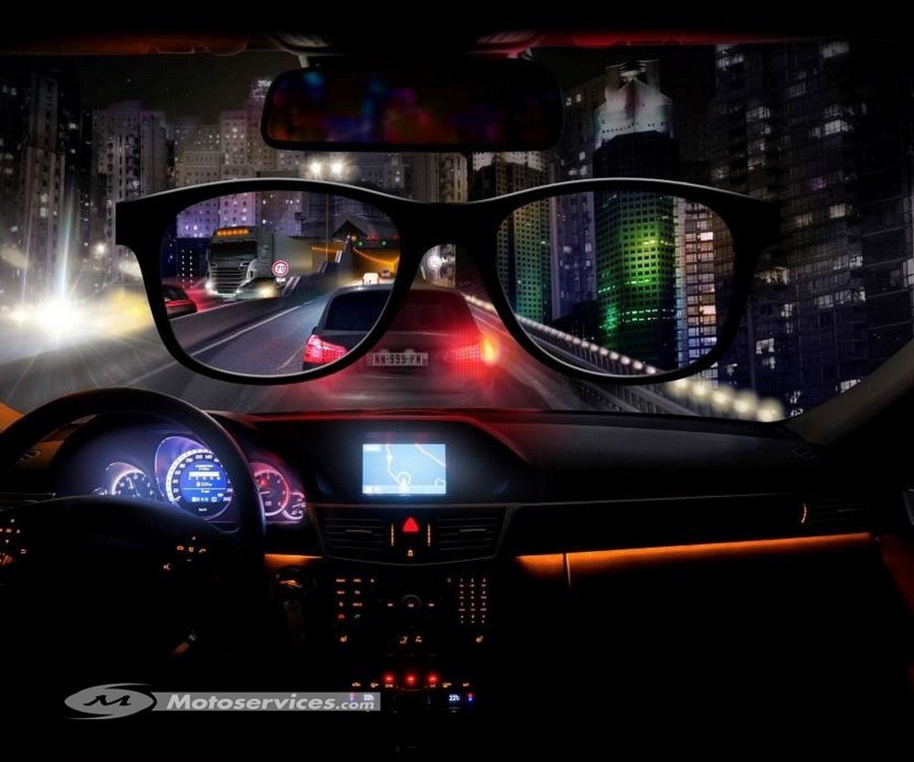 night drive les lunettes anti blouissement pour rouler de nuit moto dz. Black Bedroom Furniture Sets. Home Design Ideas